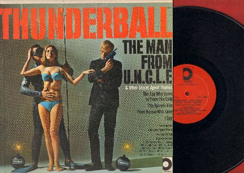 Jazz All-Stars - Thunderball & Other Secret Agent Themes: I Spy, Theme From The Man From U.N.C.L.E., Majorca Express (vinyl MONO LP record) - EX8/EX8 - LP Records