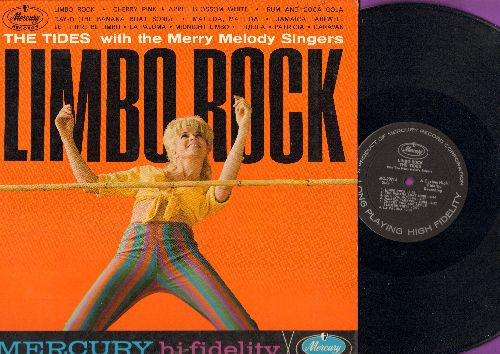 Tides - Limbo Rock: Rum And Coca Cola, Matilda Matilda, Patricia, Let There Be Limbo (vinyl MONO LP record) - NM9/EX8 - LP Records