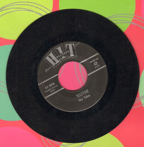 Tides - Telstar/The Lonely Bull (by Dan Rubin Orchstra on flip-side) (contemporary cover versions) - EX8/ - 45 rpm Records