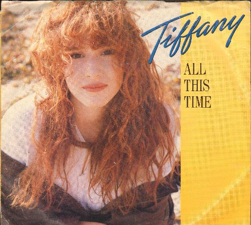 Tiffany - All This Time/Can't Stop A Heartbeat (with picture sleeve) - NM9/VG7 - 45 rpm Records
