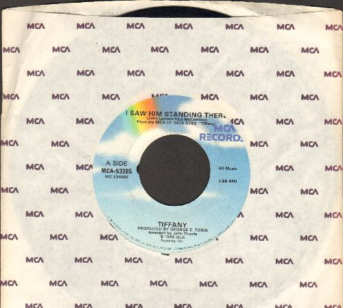 Tiffany - I Saw Him Standing There/Mr. Mambo (with MCA company sleeve) - VG7/ - 45 rpm Records