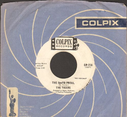 Tigers - GeeTo Tiger/The GeeTo Prowl (DJ advance pressing with vintage Colpix company sleeve) - EX8/ - 45 rpm Records