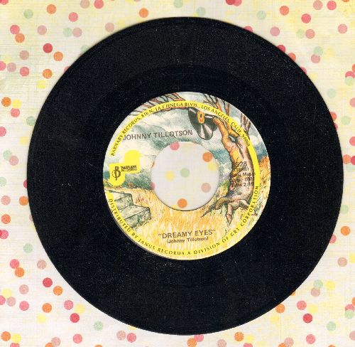 Tillotson, Johnny - Dreamy Eyes/Without You (double-hit re-issue) - M10/ - 45 rpm Records