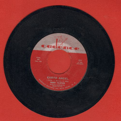 Tillotson, Johnny - Earth Angel/Pledging My Love  - NM9/ - 45 rpm Records