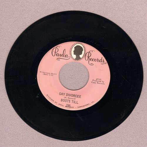 Till, Boots - Gay Divorcee/Two Lonely People - NM9/ - 45 rpm Records