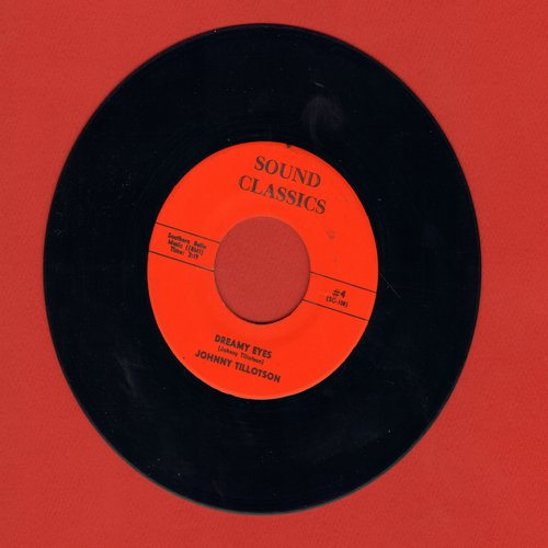 Tillotson, Johnny - Dreamy Eyes/It Keeps Right On A-Hurtin' (re-issue) - M10/ - 45 rpm Records