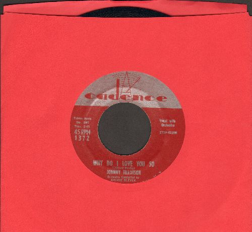 Tillotson, Johnny - Why Do I Love You So/Never Let Me Go - EX8/ - 45 rpm Records