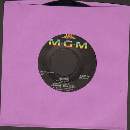 Tillotson, Johnny - Angel/Little Boy  - VG7/ - 45 rpm Records