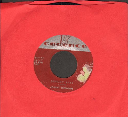 Tillotson, Johnny - Dreamy Eyes/Well I'm Your Man (sol) - VG6/ - 45 rpm Records
