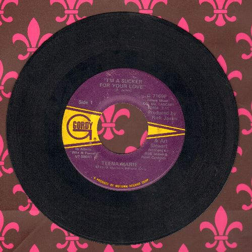 Teena Marie - I'm A Sucker For Your Love/déjà vu - VG7/ - 45 rpm Records