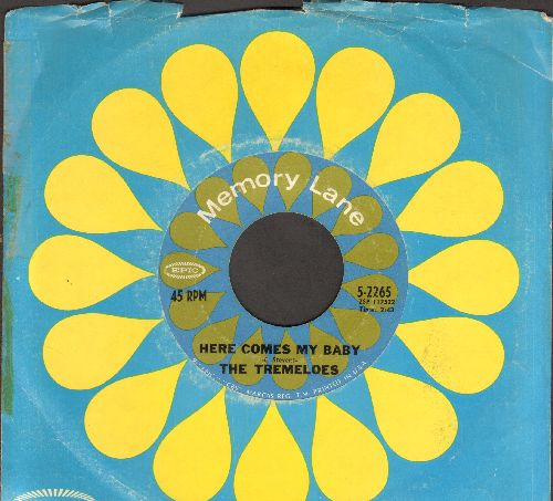 Tremeloes - Here Comes My Baby/Silence Is Golden (double-hit re-issue with company sleeve) - EX8/ - 45 rpm Records