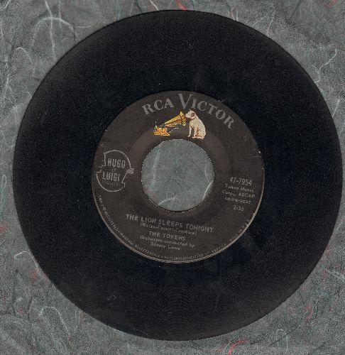 Tokens - The Lion Sleeps Tonight/Tina  - VG7/ - 45 rpm Records