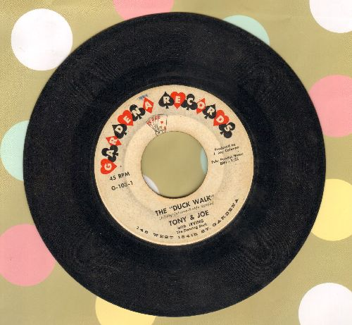 Tony & Joe - The Duck Walk (featuring Irving The Dancing Duck)/Instant Love (For You And Me) - VG6/ - 45 rpm Records