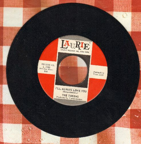 Tokens - I'll Always Love You/Please Write  - NM9/ - 45 rpm Records