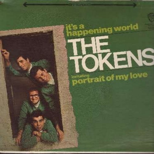 Tokens - It's A Happening World: Portrait Of My Love, Wimoweh 5 1/2 Years Later, For All That I Am, The Purpose Of A Circus (vinyl STEREO LP record, SEALED, never opened!) - SEALED/SEALED - LP Records
