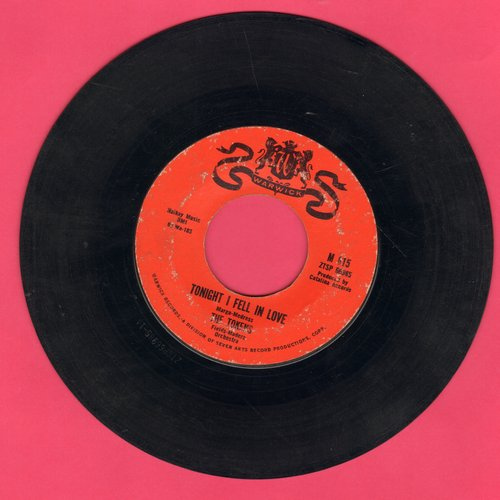 Tokens - Tonight I Fell In Love/I'll Always Love You - VG6/ - 45 rpm Records