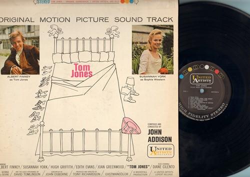 Addison, John - Tom Jones - Original Motion Picture Sound Track (vinyl STEREO LP record) - NM9/VG6 - LP Records