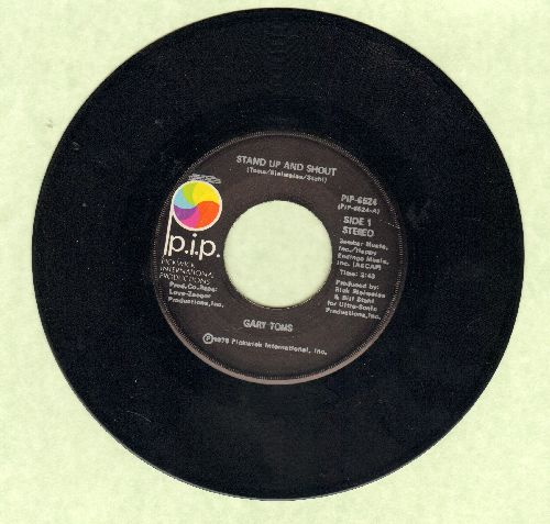 Toms, Gary - Stand Up And Shout/Party Hardy - NM9/ - 45 rpm Records