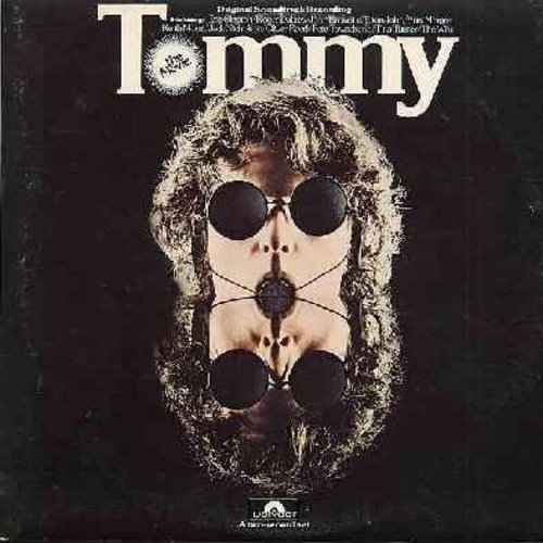 Who, Tina Turner, Eric Clapton, Ann-Margret, others - Tommy - The Movie: Original Motion Picture Sound Track including performances by The Who, Ann-Margret, Elton John, Eric Clapton, Tina Turner and others - 2 vinyl STEREO LP record set, gate-fold cover.