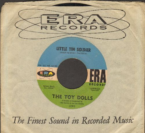 Toy Dolls - Little Tin Soldier/Fly Away (with RARE vintage ERA company sleeve) - VG7/ - 45 rpm Records