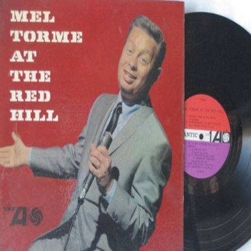 Torme, Mel - At The Red Hill: Shakin' The Blues Away, Love For Sale, Anything Goes (vinyl MONO LP record) - EX8/VG7 - LP Records