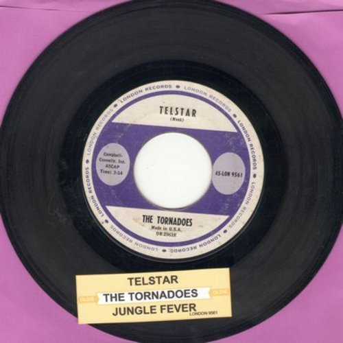 Tornadoes - Telstar/Jungle Fever (with juke box label) - VG7/ - 45 rpm Records