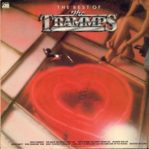 Trammps - The Best Of: Disco Inferno (10:54 minutes version), Seasons For Girls, The Night The Lights Went Out, Disco Party (8 minutes version) (vinyl STEREO LP record) - NM9/EX8 - LP Records