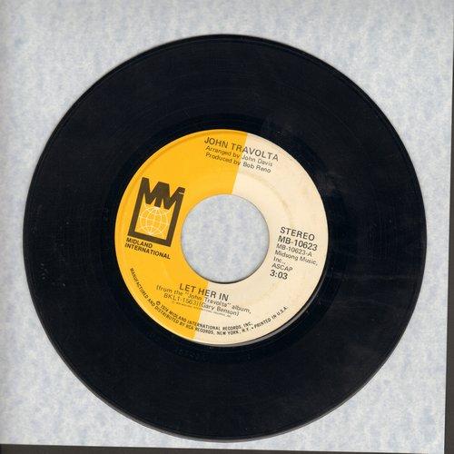 Travolta, John - Let Her In/Big Trouble - EX8/ - 45 rpm Records