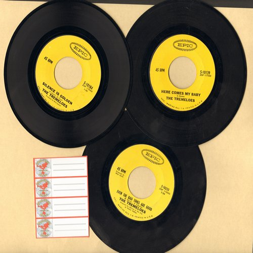 Tremeloes 3 Pack Of First Issue 45s Hits Include Here