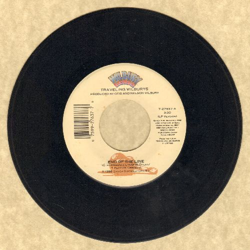 Traveling Wilburys - End Of The Line/Congratulations - EX8/ - 45 rpm Records