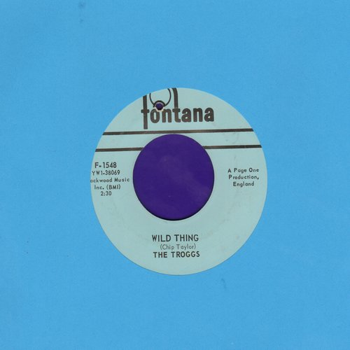 Troggs - Wild Thing (PARTY FAVORITE!)/From Home (wol) - VG7/ - 45 rpm Records