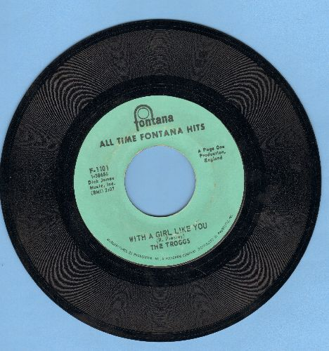 Troggs - Wild Thing (Presley)/With A Girl Like You (re-issue) - VG7/ - 45 rpm Records