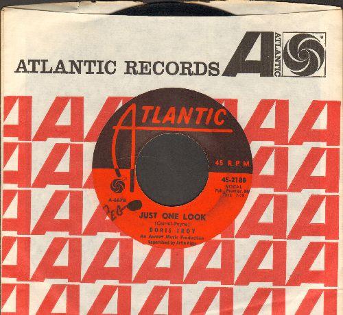 Troy, Doris - Just One Look/Bossa Nova Blues (with Atlantic company sleeve)(wol) - EX8/ - 45 rpm Records
