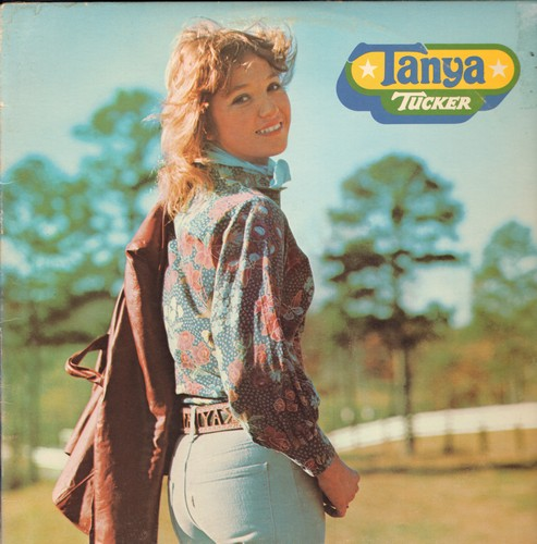 Tucker, Tanya - Tanya Tucker: San Antonio Stroll, When Will I Be Loved, Son-Of-A Preacher Man, Lizzie And The Rainman (vinyl LP record) - NM9/VG7 - LP Records