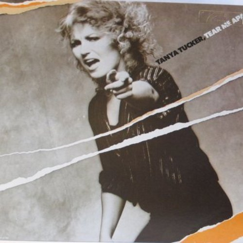 Tucker, Tanya - Tear Me Apart: Better Late Than Never, Lay Back In The Arms Of Someone, San Francisco (Be Sure To Wear Some Flowers In Your Hair) (vinyl STEREO LP record) - EX8/EX8 - LP Records
