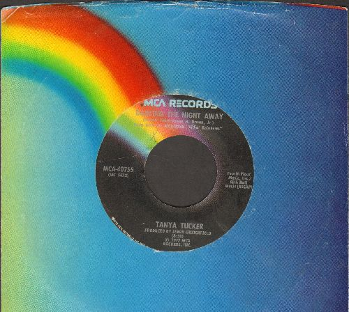 Tucker, Tanya - Dancing The Nigh Away/Let's Keep It That Way (with MCA company sleeve) - EX8/ - 45 rpm Records