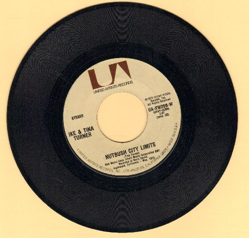 Turner, Ike & Tina - Nutbush City Limits/Help Him (1973 first issue)  - NM9/ - 45 rpm Records