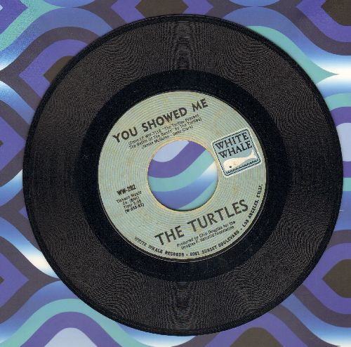 Turtles - You Showed Me/Buzz Saw  - EX8/ - 45 rpm Records