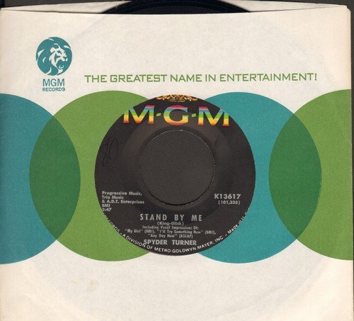 Turner, Spyder - Stand By Me/You're Good Enough For Me (with MGM company sleeve) - NM9/ - 45 rpm Records