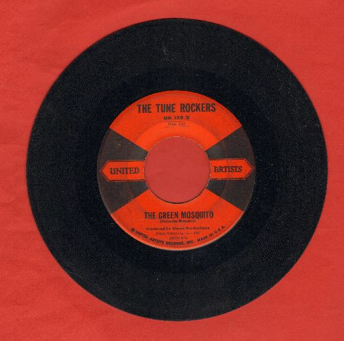 Tune Rockers - The Green Mosquito/Warm Up  - VG7/ - 45 rpm Records