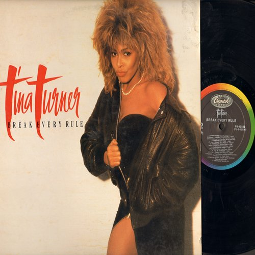 Turner, Tina - Break Every Rule: Typical Male, What You Get Is What You See, Two People (vinyl STEREO LP record) - NM9/EX8 - LP Records