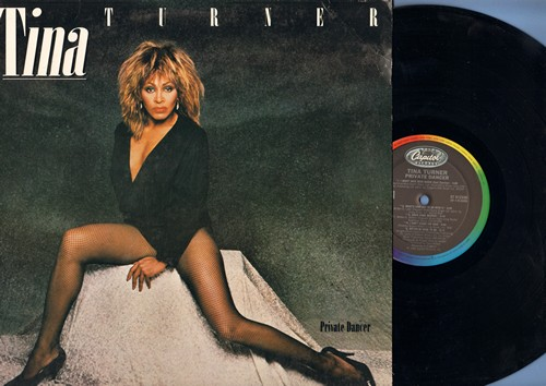 Turner, Tina - Private Dancer: What's Love Got To Do With It, Better Be Good To Me, Let's Stay Together, I Can't Stand The Rain (vinyl STEREO LP record) - NM9/NM9 - LP Records