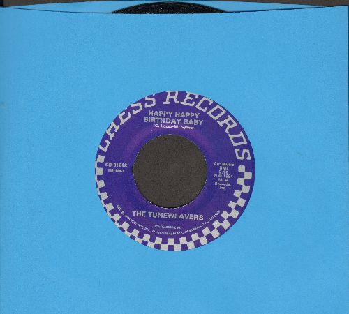 Tune Weavers - Happy, Happy Birthday Baby/Bad Girl (By The Miracles on flip-side) (re-issue of vintage recordings) - NM9/ - 45 rpm Records