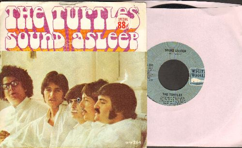Turtles - Sound Asleep/Umbassa The Dragon (with picture sleeve) (bb, sol) - VG7/VG7 - 45 rpm Records