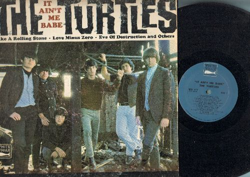 Turtles - It Ain't Me Babe: Like A Rolling Stone, Eve Of Destruction, Let Me Be, Wanderin' Kind (vinyl MONO LP record) - EX8/VG7 - LP Records