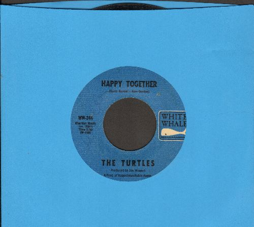Turtles - Happy Together/Like The Seasons  - EX8/ - 45 rpm Records
