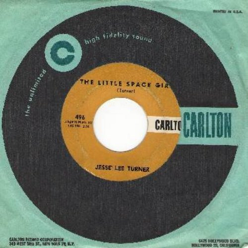 Turner, Jesse Lee - The Little Space Girl (Mr. Earth Man, Will You Marry Me?)/Shake, Baby, Shake (with RARE Carton company sleeve) - NM9/ - 45 rpm Records