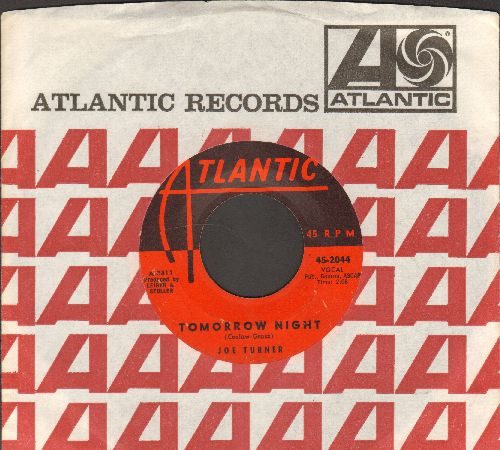 Turner, Joe - Tomorrow Night/Honey Hush (with vintage Atlantic company sleeve) - VG7/ - 45 rpm Records
