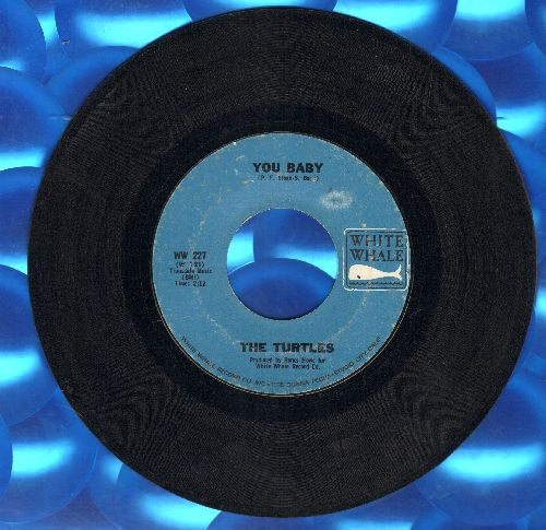 Turtles - You Baby/Wanderin' Kind  - EX8/ - 45 rpm Records