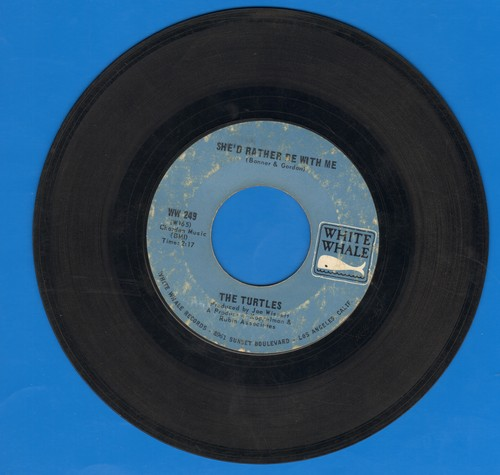 Turtles - She'd Rather Be With Me/The Walking Song (bb) - VG7/ - 45 rpm Records